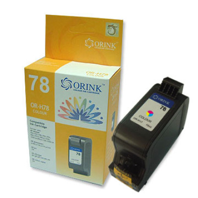 78D - Orink C6578DE HP tinta tri color, 19ml